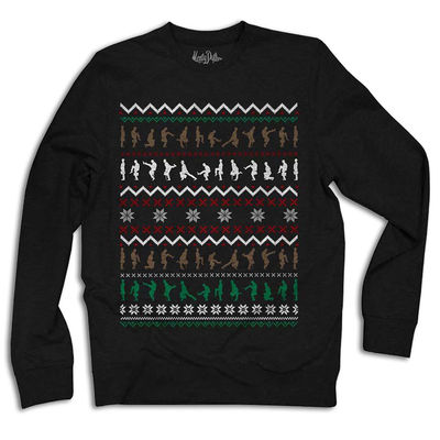 Monty Python: Ministry Of Silly Walks Christmas Sweatshirt