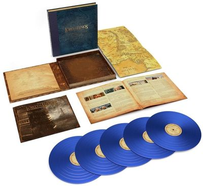 Original Soundtrack: Lord of the Rings: The Two Towers - The Complete Recordings: Limited Edition Blue Vinyl Box Set