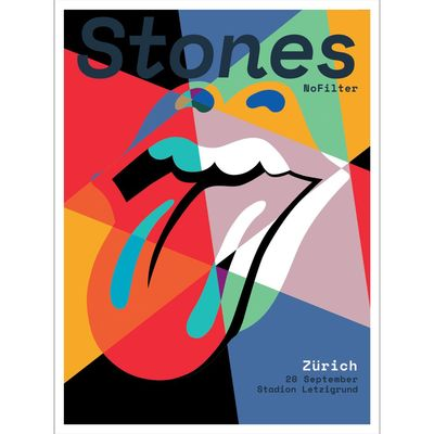 The Rolling Stones: Zurich Print