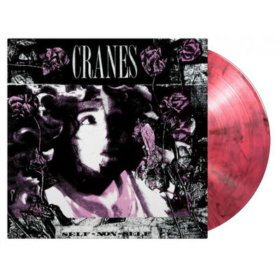 Cranes: Self Non-Self: Limited Black and Pink Swirl Vinyl