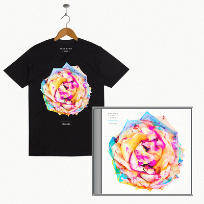 Walking On Cars: Colours Signed CD + T-Shirt