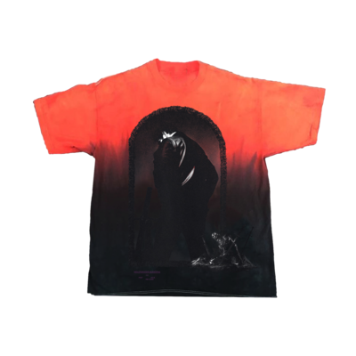 Post Malone: Cover Dip Dye T-shirt - S