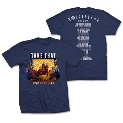 takethat: Navy Album Cover T-Shirt