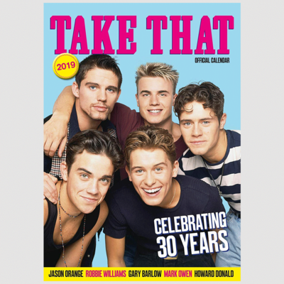 takethat: Take That Official 2019 Calendar