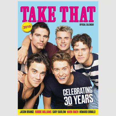 takethat: Take That Official 2019 Calendar