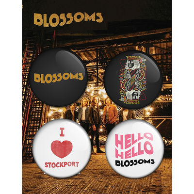 Blossoms: Badge Set