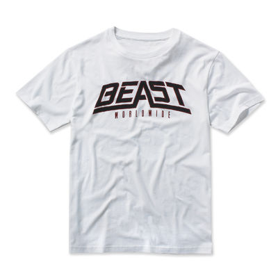 Beast Worldwide: Classic Beast #1 T-shirt (White)