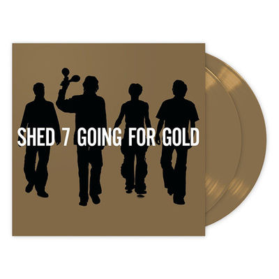 Shed Seven: Going For Gold: The Greatest Hits Limited Gold Vinyl