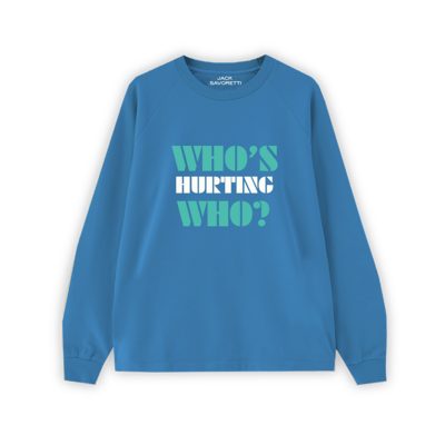 Jack Savoretti: Who's Hurting Who Sweat (Blue)