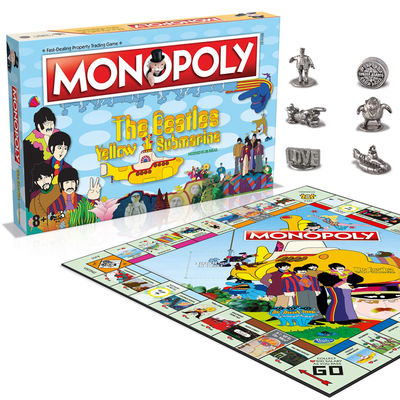 The Beatles: Yellow Submarine Monopoly