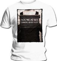 You Me At Six: Sinners Never Sleep Mens T-Shirt