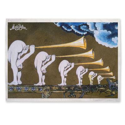 Monty Python: Butt Trumpets Tea Towel