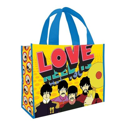The Beatles: Yellow Submarine Large Recycled Shopper Tote