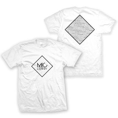 Mic Lowry: MiC LOWRY White T-Shirt