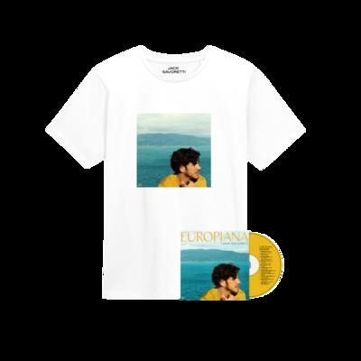 Jack Savoretti: Signed CD & T-Shirt