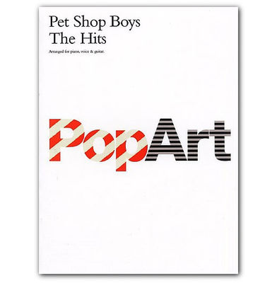 Pet Shop Boys: Pop Art Sheet Music Book
