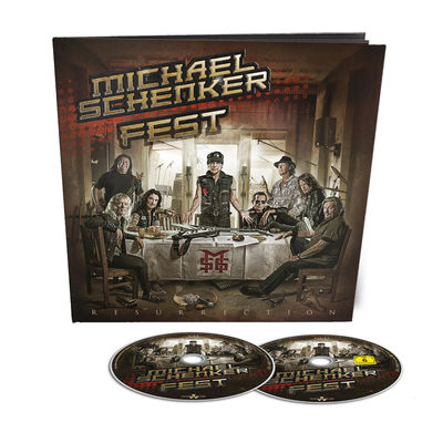 Michael Schenker Fest: Resurrection -  Earbook