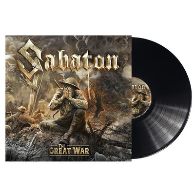 Sabaton: The Great War: Limited Edition Gatefold 180gm Vinyl with Signed Insert