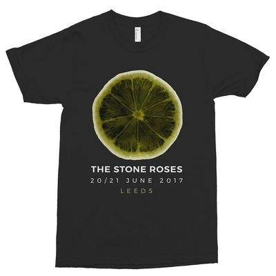The Stone Roses: X-Ray Lemon Leeds T-Shirt