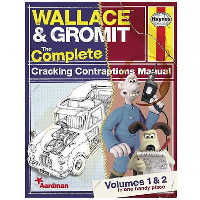 Wallace & Gromit: Haynes The Complete Cracking Contraptions Manuals