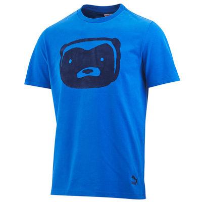 Professor Green: Honey Badger T-Shirt Nautical Blue