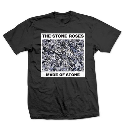 The Stone Roses: Made of Stone Black T-Shirt