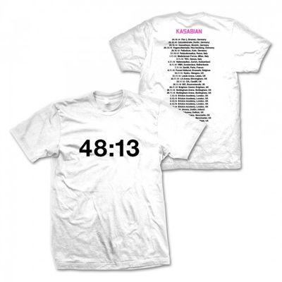 Kasabian: Kasabian 48:13 European Dateback T-shirt