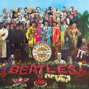 The Beatles: St Peppers Lonely Hearts Club Band Album Cover Greeting Card