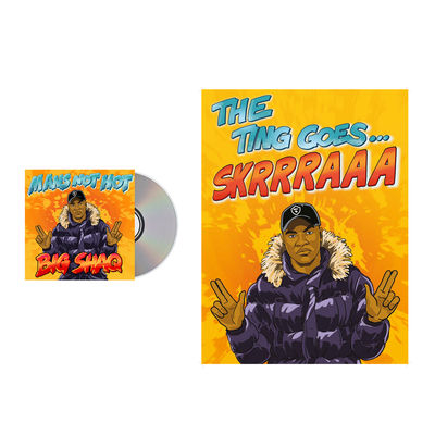 BigShaq: Mans Not Hot - CD1 - UK EXCLUSIVE