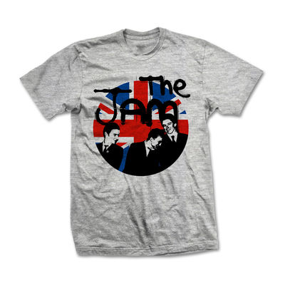 The Jam: The Jam Grey Circle T-Shirt