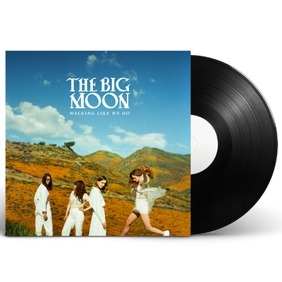 The Big Moon: Walking Like We Do: Black Vinyl