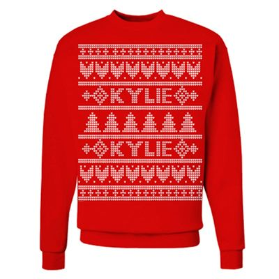 Kylie Minogue: Kylie Red Christmas Jumper