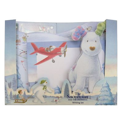The Snowman: The Snowman Writing Set