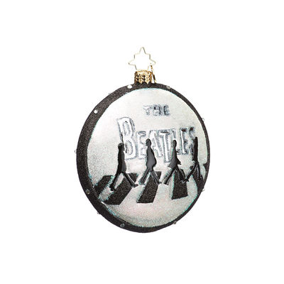 Abbey Road Studios: The Beatles Abbey Christmas Glass Decoration