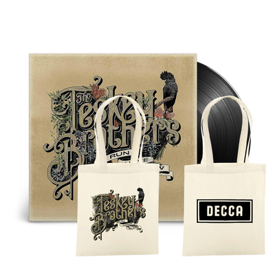 The Teskey Brothers: Run Home Slow LP & Tote Bag