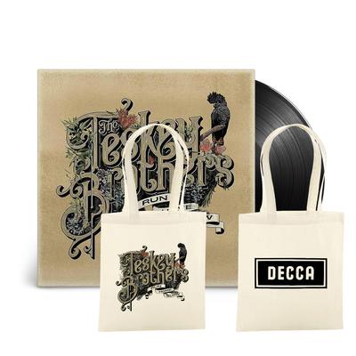 The Teskey Brothers: Run Home Slow LP & Tote Bag
