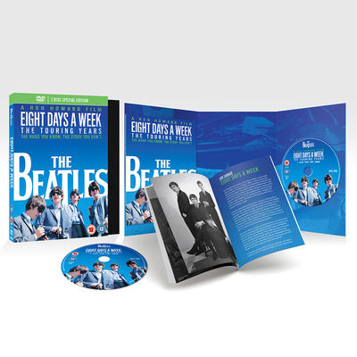 The Beatles: Eight Days A Week - The Touring Years (DLX 2 DVD + Book)