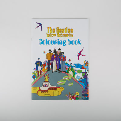Abbey Road Studios: Yellow Submarine Colouring Book