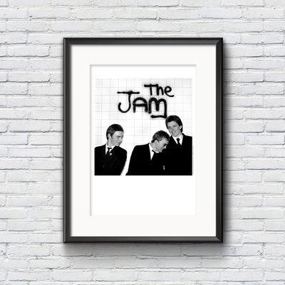 The Jam: The Jam A2 Wall Litho Print