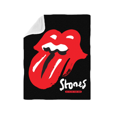 The Rolling Stones: No Filter 2021 Classic Licks Blanket