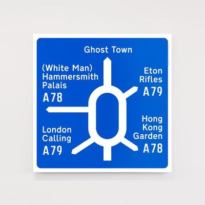 Dorothy: Road to Nowhere: Post-Punk Roundabout Screen Print Poster