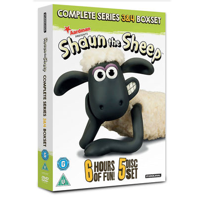 Shaun the Sheep: Shaun The Sheep - Series 3 & 4 Box Set