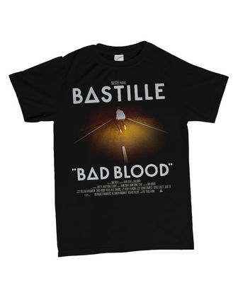Bastille: Official Bad Blood T-Shirt