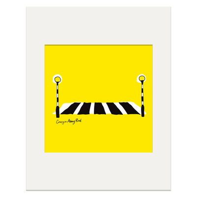 Abbey Road Studios: Abbey Road Crossing Print