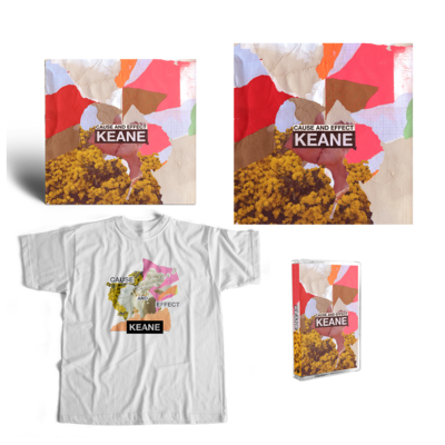 Keane: Cause and Effect: Deluxe CD, Cassette, Tee + Lithograph