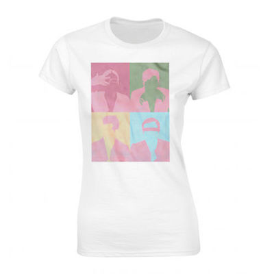 Kings Of Leon: White Brady Art Ladies Tee