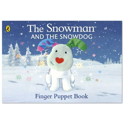 The Snowman: The Snowman and the Snowdog Finger Puppet Book (Board Book)