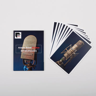Abbey Road Studios: Abbey Road Microphones Postcard Pack