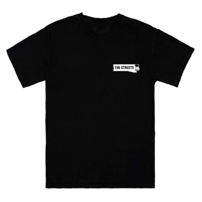 The Streets: Classic Black Tee