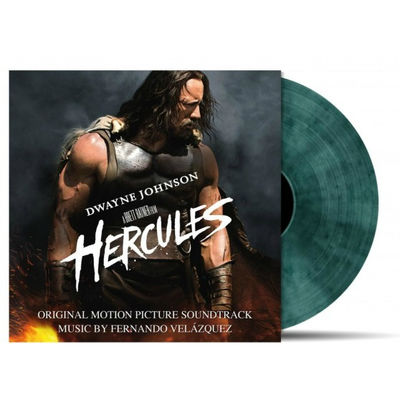 Original Soundtrack: Hercules: Clear Blue/Black Vinyl